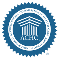 Accredited by The Accreditation Commission for Health Care - Distinction in Oncology