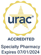 Accredited by URAC for Specialty Pharmacy